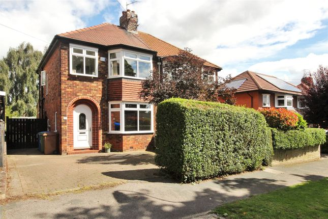 Thumbnail Detached house for sale in Tranby Avenue, Hessle