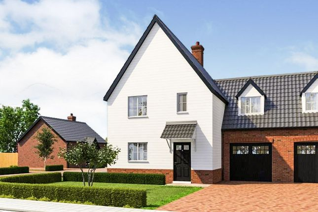 Thumbnail Link-detached house for sale in Saxons Green, Old Post Office Lane, Sutton, Woodbridge