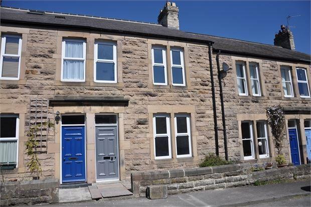 Thumbnail Terraced house for sale in Glen Terrace, Hexham