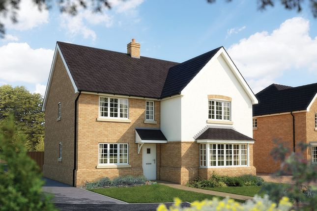 "Thumbnail Detached house for sale in ""The Arundel"" at Duffet Drive, Winnersh, Wokingham"