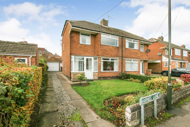 Thumbnail Semi-detached house for sale in Barnes Lane, Dronfield Woodhouse, Derbyshire