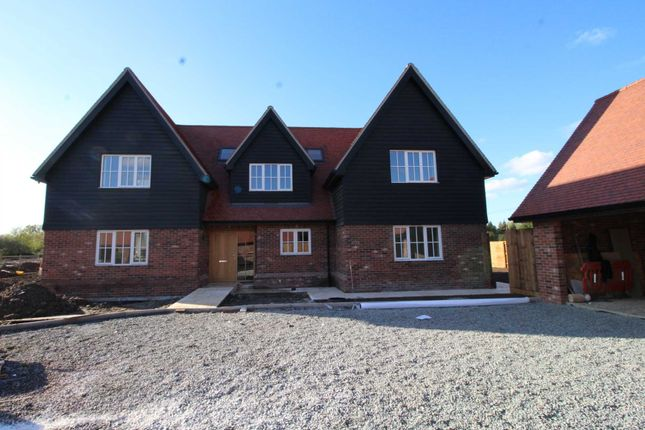 Thumbnail Detached house for sale in Fen Lane, Bulphan, Upminster