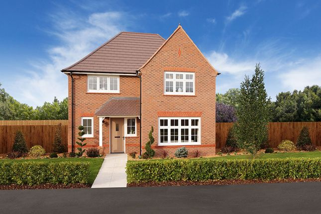 "Thumbnail Detached house for sale in ""Cambridge"" at Chaul End Village, Caddington, Luton"