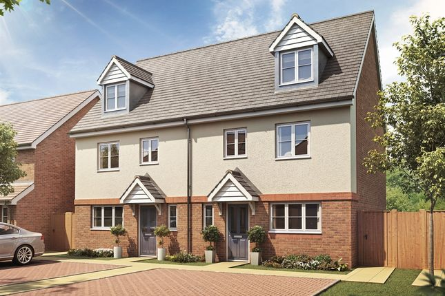"""4 bedroom semi-detached house for sale in """"The Leicester"""" at Hyton Drive, Deal"""