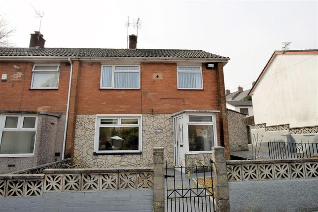 3 bedroom end terrace house for sale in Gladstone Road, Barry