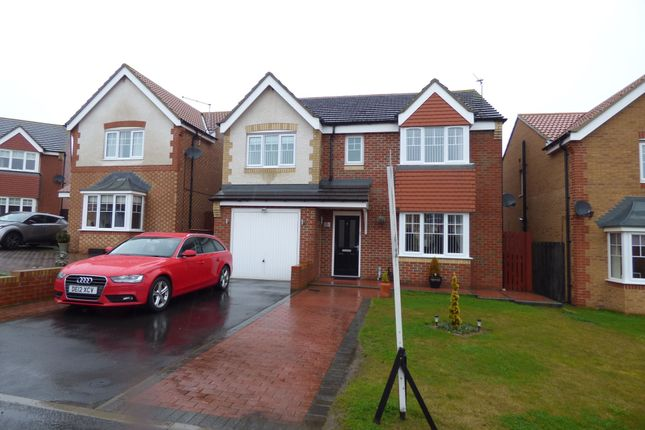 Thumbnail Detached house for sale in Torrance Close, Ashington