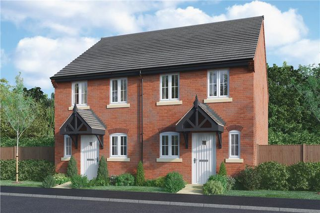 """Thumbnail Semi-detached house for sale in """"Ashford"""" at Burton Road, Streethay, Lichfield"""