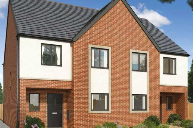 Thumbnail Semi-detached house for sale in Plot 7, The Mallards, Hampton Vale, Peterborough