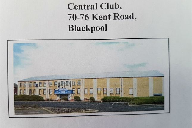 Thumbnail Commercial property for sale in Keyline Leisure Ltd, Kent Road, Blackpool, Lancashire