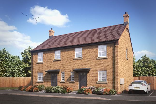 Thumbnail Semi-detached house for sale in Thomas Kitching Way, Bardney