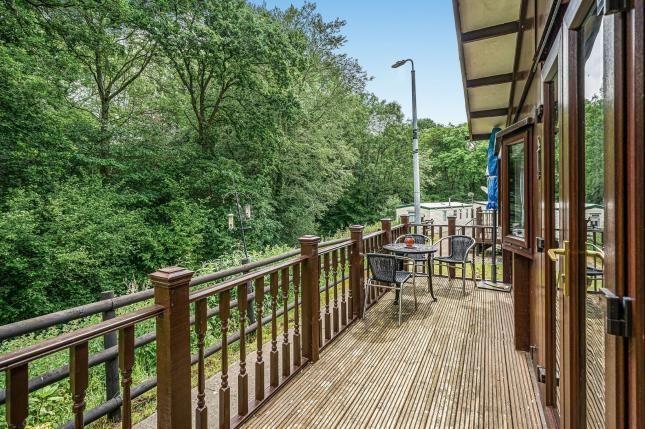 Balcony of Ditton Mill Park, Cleobury Mortimer, Shropshire DY14