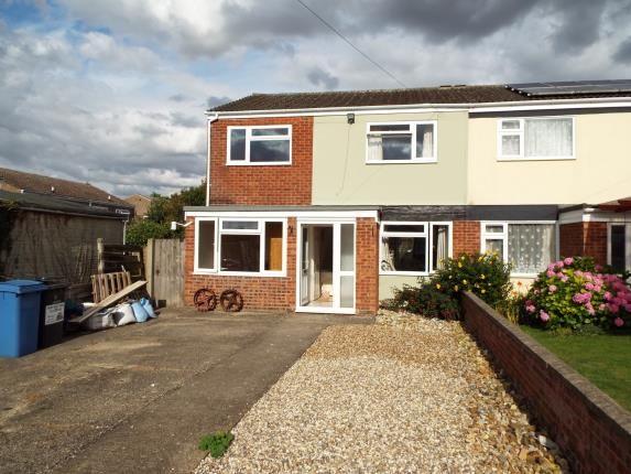 Semi-detached house for sale in Glemsford, Sudbury, Suffolk