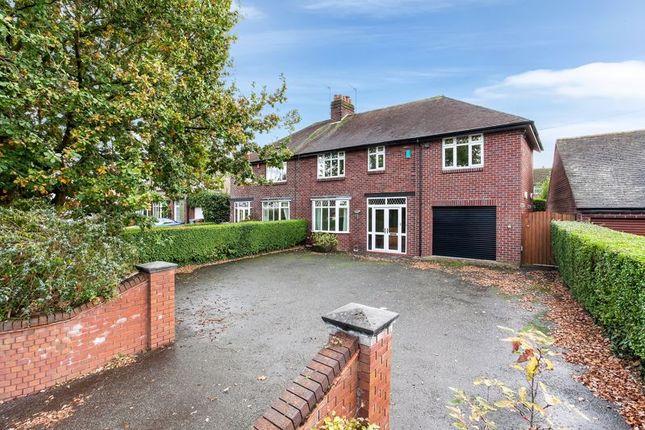Thumbnail Semi-detached house to rent in Sandbach Road, Congleton