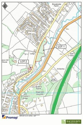 Map Of Lot 1 And Lot 2
