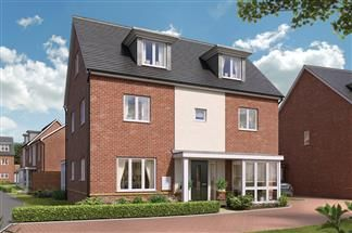 Thumbnail Detached house for sale in Beggarwood Lane, Basingstoke