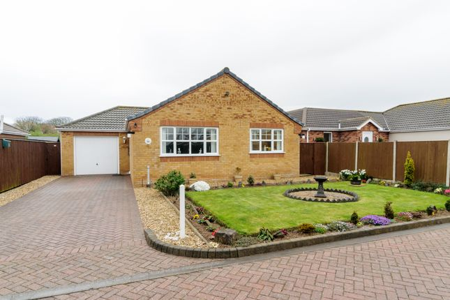 Thumbnail Detached bungalow for sale in Church View, Trusthorpe, Mablethorpe