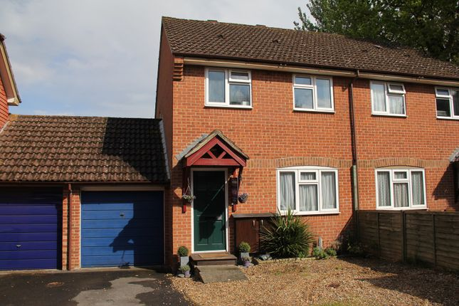 Thumbnail Semi-detached house for sale in Bromelia Close, Bramley