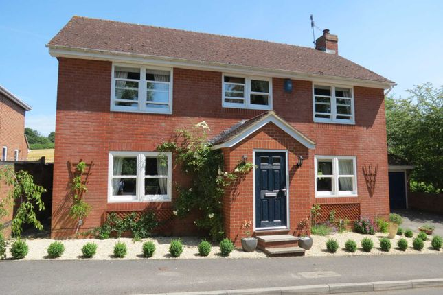 Thumbnail Detached house for sale in Mac Neice Drive, Marlborough