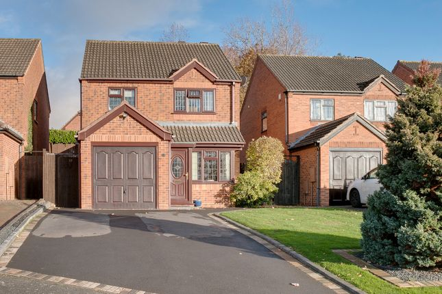 Thumbnail Detached house for sale in Duxford Close, Headless Cross, Redditch