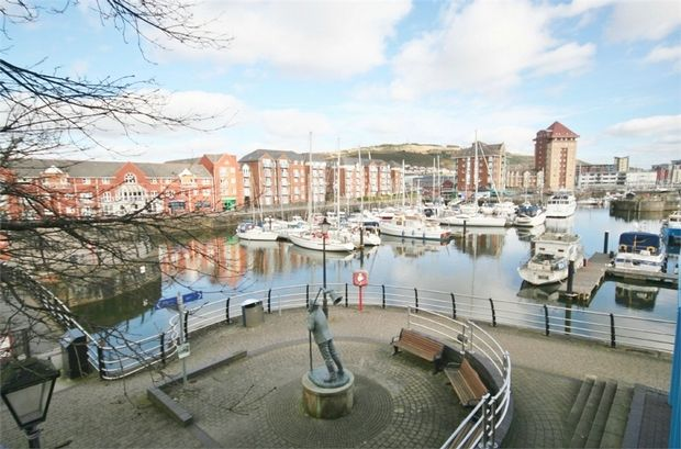 Thumbnail Flat to rent in Abernethy Square, Maritime Quarter, Swansea