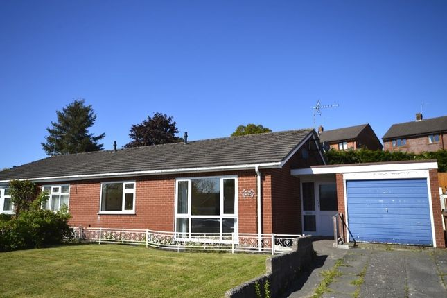 Thumbnail Bungalow for sale in Perry Road, Rhewl, Gobowen, Oswestry