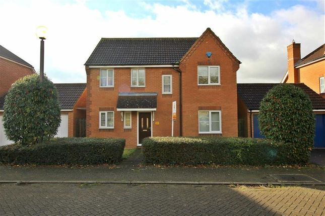 Thumbnail Detached house to rent in Mayditch Place, Bradwell Common, Milton Keynes
