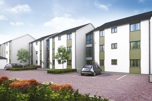 Thumbnail Flat for sale in Cherry Tree Gardens, Pennycross Close, Plymouth