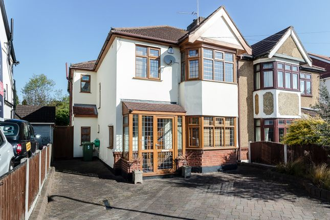 Thumbnail Semi-detached house for sale in Hogarth Avenue, Brentwood