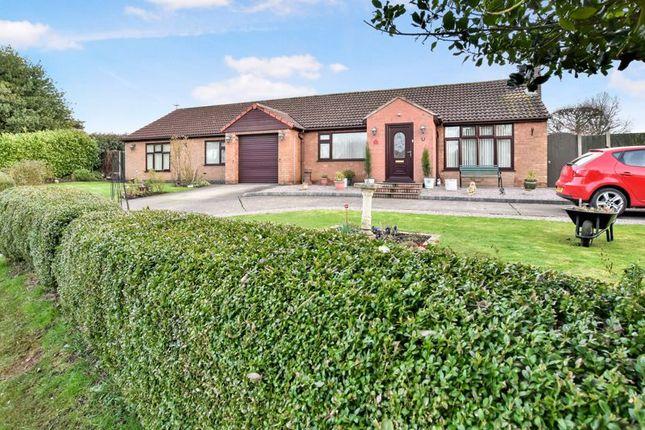 Thumbnail Detached bungalow for sale in Ashing Lane, Dunholme, Lincoln