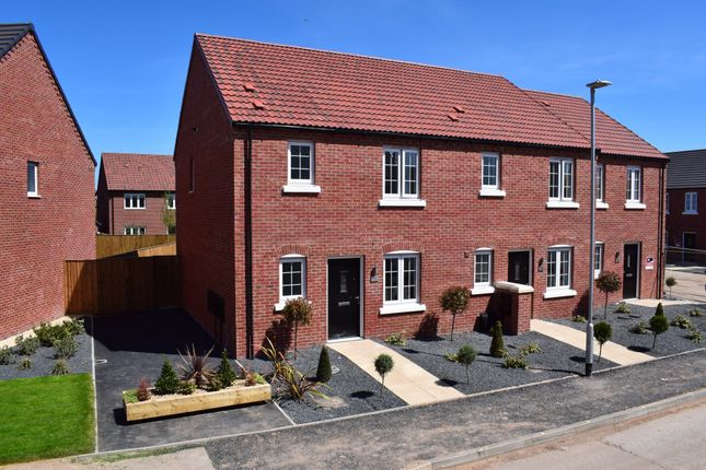 Thumbnail End terrace house for sale in 11 Thornfield Way, Aslockton
