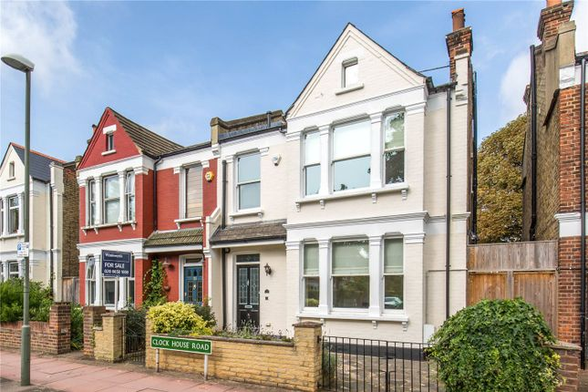 Thumbnail Semi-detached house for sale in Clock House Road, Beckenham