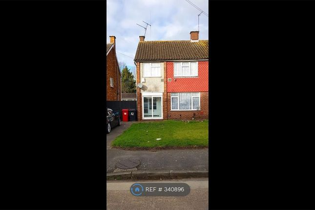 Thumbnail Semi-detached house to rent in Coleridge Crescent, Slough