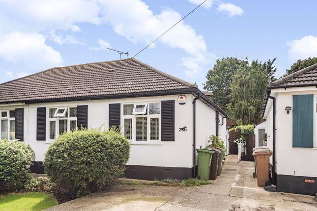 Thumbnail Semi-detached bungalow for sale in Trafalgar Avenue, Worcester Park
