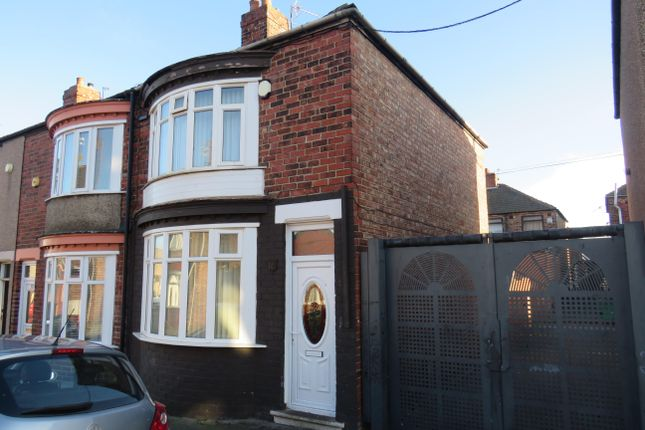 3 bed terraced house to rent in Thornton Street, North Ormesby, Middlesbrough TS3