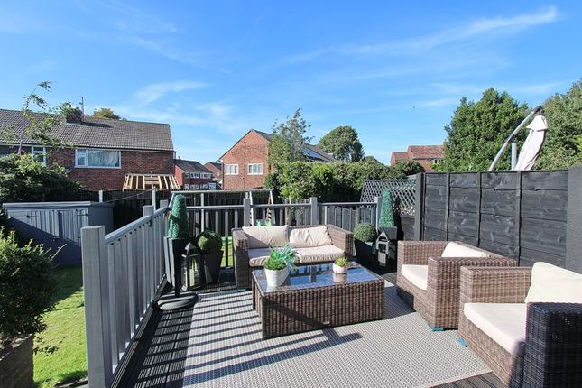 Gardens of Harlech Avenue, Whitefield, Manchester M45