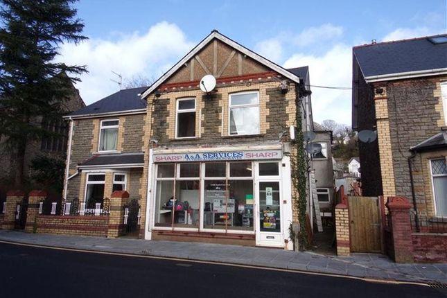 Thumbnail Flat to rent in High Street, Newbridge, Newport