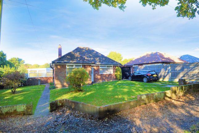 Thumbnail Detached bungalow for sale in Priors Hill Lane, Bursledon, Southampton