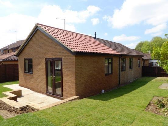 Thumbnail Semi-detached bungalow for sale in Falconers Rise, East Hunsbury, Northampton