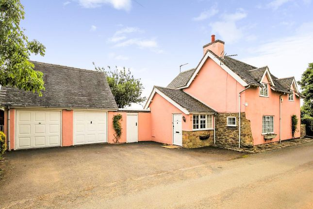 Thumbnail Cottage for sale in The Ginnel, Babelake Street, Packington