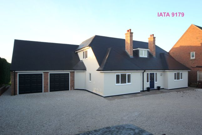 Thumbnail Detached house for sale in Eccleshall Road, Great Bridgeford, Stafford