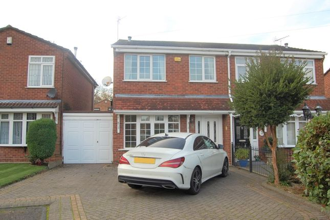 Thumbnail Semi-detached house to rent in Bermuda Close, Dudley