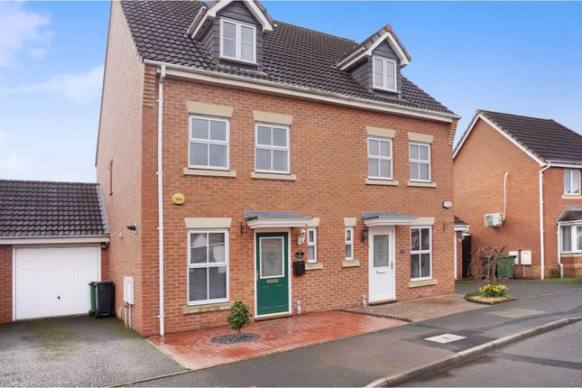 Thumbnail Semi-detached house for sale in Stadium Drive, Dudley