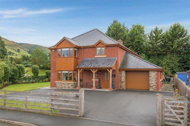 Thumbnail Detached house for sale in Troed Y Cyrniau, Penybontfawr, Oswestry, Powys
