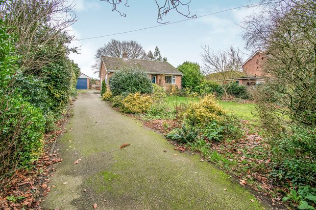 Thumbnail Detached bungalow for sale in Norwich Road, Acle, Norwich