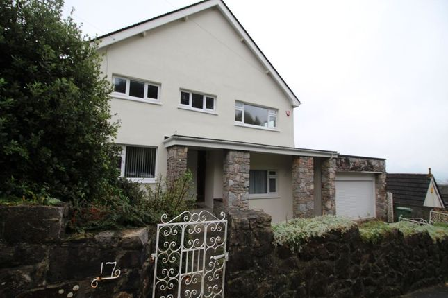 Thumbnail Detached house to rent in Thornhill Way, Mannamead, Plymouth
