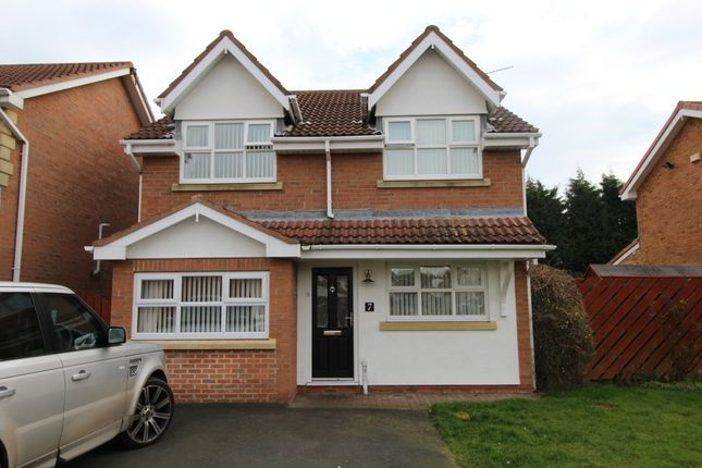 Thumbnail Detached house for sale in Lowther Close, Ashington