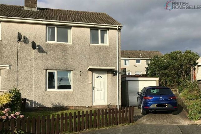 Thumbnail Semi-detached house for sale in Greenlands Close, Whitehaven, Cumbria