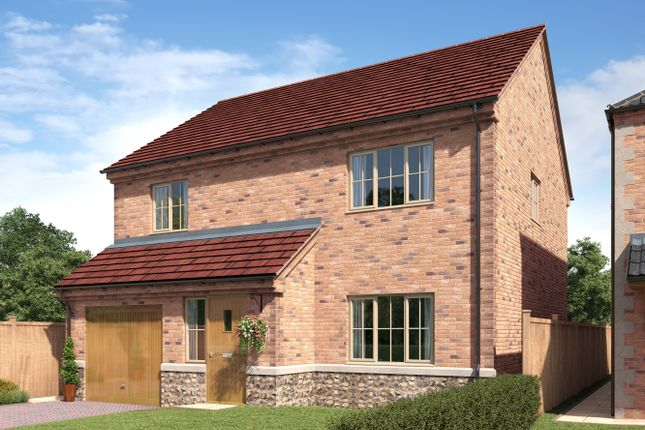 Thumbnail Detached house for sale in St Chads Way, Lincolnshire