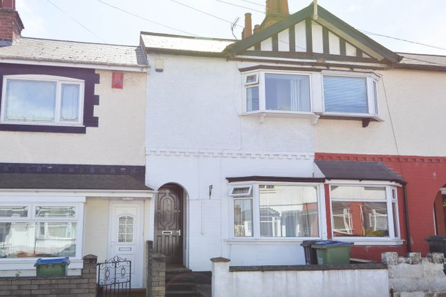Thumbnail Terraced house for sale in Richmond Road, Bearwood