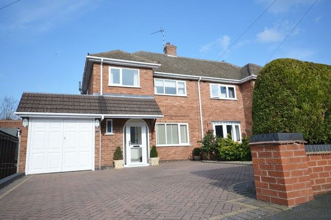 Thumbnail Semi-detached house for sale in Lindridge Road, Shirley, Solihull